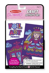 Melissa & Doug Foil Art - Princess