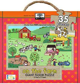 On the Farm 35 Piece Giant Floor Puzzle