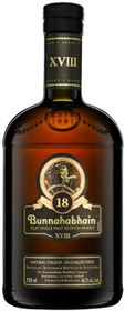 Bunnahabhain - 18 Year Old Islay Single Malt Whisky - Case 6 x 750ml