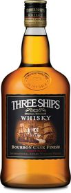 Three Ships - Bourbon Cask Finish Whisky - Case 12 x 750ml