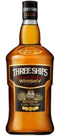 Three Ships - Bourbon Cask Finish Whisky - 12 x 750ml