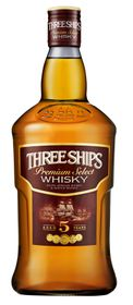 Three Ships - Premium Select 5 Year Old Whisky - Case 12 x 750ml