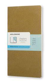 Moleskine Chapters Journal Slim Pocket Dotted Olive