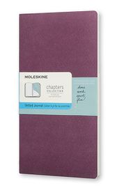 Moleskine Chapters Journal Slim Medium Dotted Plum Purple
