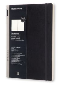 Moleskine Pro Collection Workbook A4 Black Plain Softcover