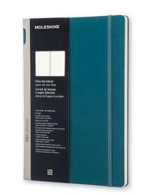 Moleskine Pro Collection Workbook A4 Green Tide Plain Hardcover