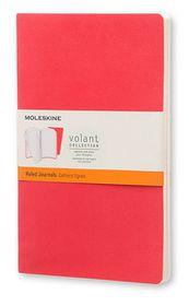 Moleskine Volant Journal Ruled Large Scarlet Red