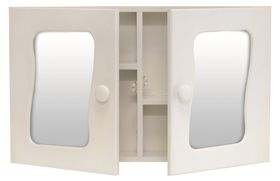 Wildberry - Double Door Bathroom Cabinet - White