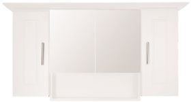 Wildberry - Cabinet 4 Door - White