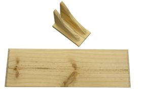 Wildberry - Straight Shelf Kit Pine - 900 mm