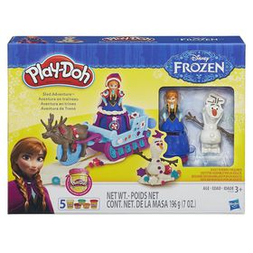 Play Doh Frozen Sled Adventure