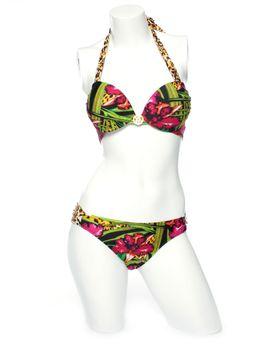 Victoria Style Triangle Bikini - Floral