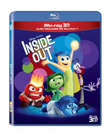 Inside Out (3D & 2D Blu-ray)