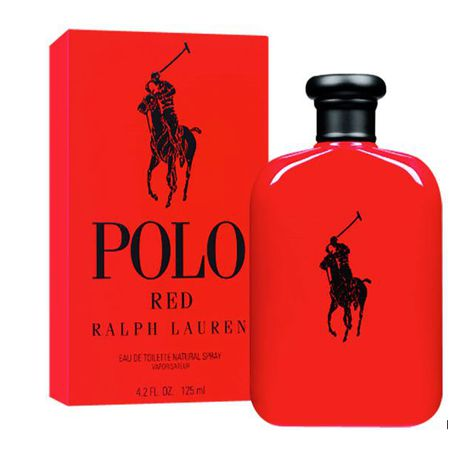 Edt Polo Himparallel Ralph 125ml For Red Import Lauren 6Yb7gyf