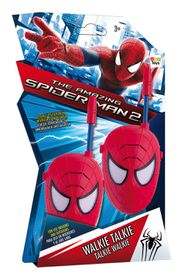 Ultimate Spider Man Walkie Talkie Spiderman Face