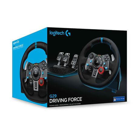 eac843d5eb0 Logitech G29 Driving Force Racing Wheel (PS4, PS3 & PC) | Buy Online ...