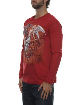 Alchemy Gothic The Chemical Wedding Long Sleeve T-Shirt - Dark Red