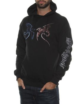 Alchemy Gothic Virsus Doctrinus Hooded Top - Black