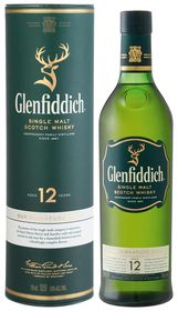Glenfiddich - 12 Year Old Special Reserve Single Malt Whisky - 750ml