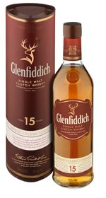 Glenfiddich - 15 YO Solera Reserve Single Malt Scotch Whisky - 750ml