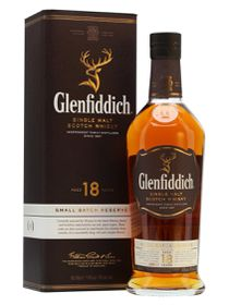 Glenfiddich - 18 Year Old Small Batch Reserve Single Malt Whisky - 750ml