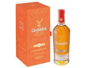 Glenfiddich - 21 YO Grand Reserve Single Malt Scotch Whisky - Case 3 x 750ml