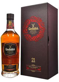 Glenfiddich - 21 YO Grand Reserve Single Malt Scotch Whisky - Case 3 x 750ml