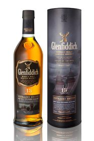 Glenfiddich - 15 YO Distillery Edition Single Malt Scotch Whisky - 750ml