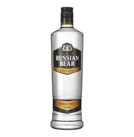 Russian Bear - Passion Fruit Vodka - Case 6 x 750ml