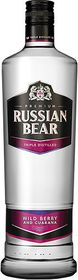 Russian Bear - Wild Berry with Guarana Vodka - Case 6 x 750ml