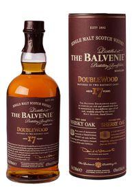 The Balvenie - 17 Year Old Double wood Single Malt Whisky - 750ml