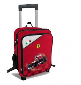 Ferrari Car Primary Small Trolley Backpack