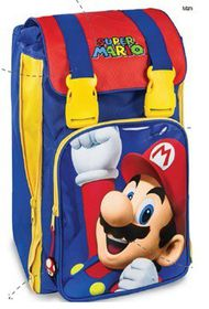 Super Mario Kids Expandable Backpack