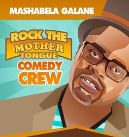 Mashabela Galane - Rock The Mother Tongue Comedy Crew (DVD)