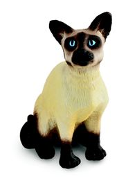 Collecta Cats&Dogs-Siamese Cat - Sitting-S