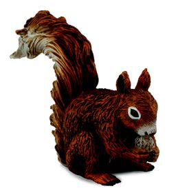 Collecta Woodlands-Red Squirrel - Eating-S