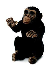 Collecta Wildlife-Chimpanzee Cub - Hugging-S