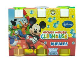 3-Pack Mickey Bubbles