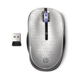 HP 2.4Ghz Wireless Optical Mouse - Silver