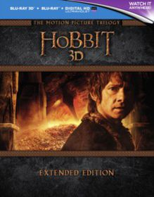 The Hobbit: Trilogy - Extended Edition (3D + 2D Blu-ray - Parallel Import)