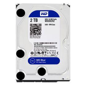 """WD Blue 2TB 3.5"""" SATA 6Gb/s 64MB Internal Hard Drive"""