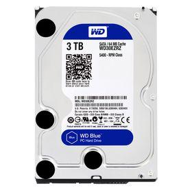 """WD Blue 3TB 3.5"""" SATA 6Gb/s 64MB Internal Hard Drive"""