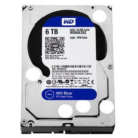 """WD Blue 6TB 3.5"""" SATA 6Gb/s 64MB Internal Hard Drive"""