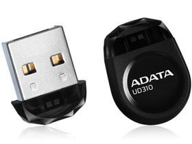 Adata UD310 64GB Nano Flash Drive - Black