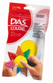 DAS Air Hardening Modelling Clay 150g - Yellow