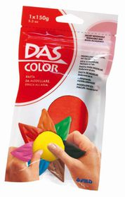 DAS Air Hardening Modelling Clay 150g - Red