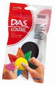 DAS Air Hardening Modelling Clay 150g - Black