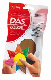 DAS Air Hardening Modelling Clay 150g - Brown