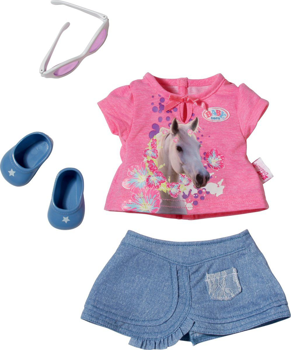 Baby Born Clothes Pink Horse Shirt Buy Online In