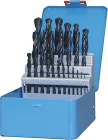 Fox Tools - Drill Bit Set HSS Light Industrial 25 Piece - Blue